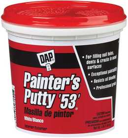 Dap 12242 Painter's Putty 53 Pt White