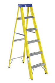 Louisville Ladder FS2006 Fiberglass Step Ladder Type I 6 ft