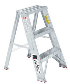 Louisville Ladder L-2311-02 Aluminum Step Stool Type III 2 ft