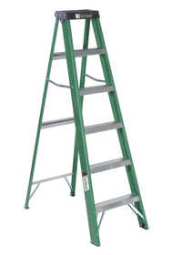 Louisville Ladder FS4006 Fiberglass Step Ladder Type II 6 ft