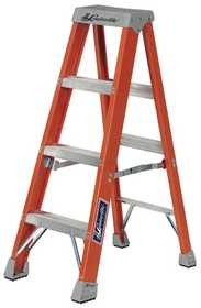 Louisville Ladder FS1504 Ladder Step 4 ft Fiberglass Type Ia Hd
