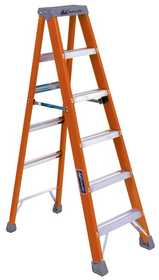 Louisville Ladder FS1506 Heavy Duty Step Ladder 6 ft F/G Type Ia