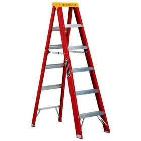 Louisville Ladder L-3016-08 Industrial Step Ladder F/G Type Ia 8 ft