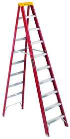 Louisville Ladder L-3016-10 Industrial Step Ladder F/G Type Ia 10 ft
