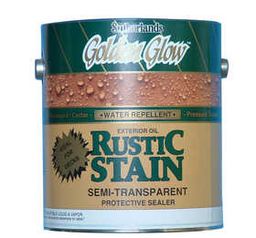 Davis Paint 0.09142 Semi-Transparent Rustic Stain Teak Gallon