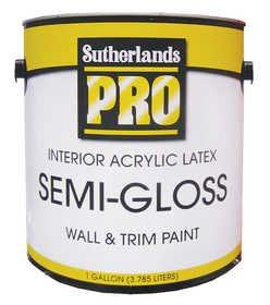 davis paint 4350 interior latex semi gloss paint at. Black Bedroom Furniture Sets. Home Design Ideas