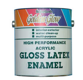 Davis Paint 0.50442 High Performance Interior/Exterior Gloss Latex Enamel Gallon
