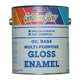 Davis Paint 0.58482 Multi-Purpose Enamel Brilliant Red Gallon