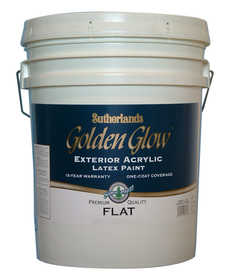 Davis Paint .24991 Golden Glow Exterior Latex Paint Flat Accent Base 5 Gal
