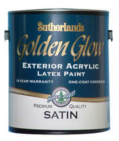 Davis Paint .40652 Golden Glow Exterior Latex Paint Satin Deep Base Gallon