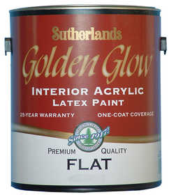 Davis Paint .55992 Golden Glow Interior Latex Paint Flat Accent Base Gallon