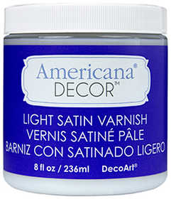 DECOART, INC ADM05-36 Varnish 8 oz Light Satin