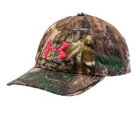 Under Armour 1238981-946OSFA Women's Camo Hat RealTree Xtra