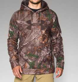 Under Armour 1249745-948-XL Men's Armour Fleece Camo Big Logo Hoodie Xl