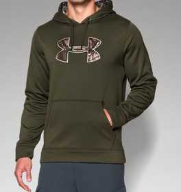 Under Armour 1264916-374-XL Men's Storm Caliber Hoodie Greenhead Xl