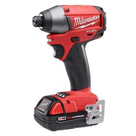 Milwaukee 2653-22CT M18 Fuel 1/4 in Hex Impact Driver Kit