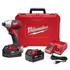 Milwaukee 2657-22 M18 2-Speed 1/4 In Hex Impact Driver Kit