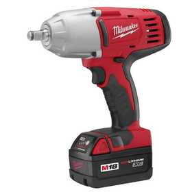 Milwaukee 2663-22 M18 1/2 in High-Torque Impact Wrench With Friction Ring Kit
