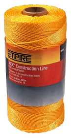 Empire Level 39813N Braided Construction Line 1000 ft Orange