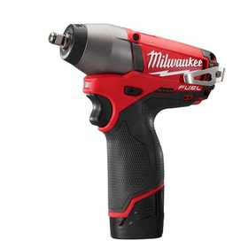 Milwaukee 2454-22 M12 Fuel 3/8 in Impact Wrench Kit