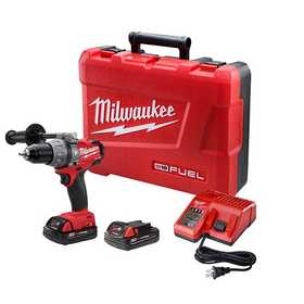 Milwaukee 2604-22 M18 Fuel 1/2 in Hammer Drill/Driver Kit
