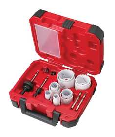 Milwaukee 49-22-4175 15-Piece General Purpose Hole Dozer Hole Saw Kit