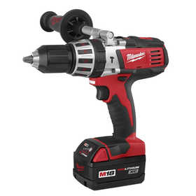 Milwaukee 2611-24 M18 Cordless Lithium-Ion High Performance 1/2 in Hammer Drill Driver