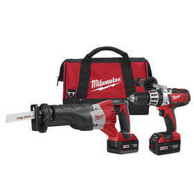 Milwaukee 2694-22 Hammerdrill/Sawzall Comp 2Kit