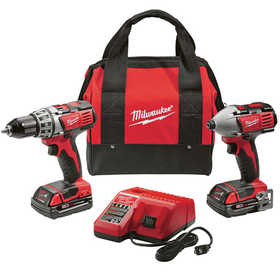 Milwaukee 2691-22 M18 Cordless Lithium-Ion 2-Tool Combo Kit