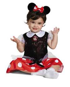 DISGUISE 5390W-I Red Minnie Classic Toddler