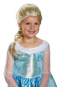 DISGUISE 79354 Elsa Child Wig