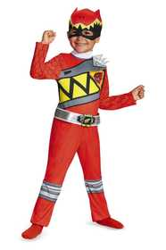 DISGUISE 82734S Red Ranger Dino Charge Toddler Classic