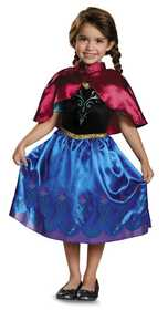 DISGUISE 83182S Anna Traveling Toddler Classic