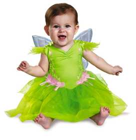 DISGUISE 85613W Tinker Bell Deluxe Infant