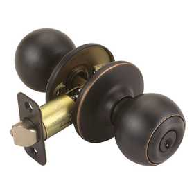 Design House 750687 Ball Entry Knob Oil Rubbed Bronze