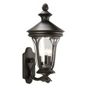 Design House 516740 Uplight Outdoor Corbett Orb