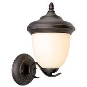 Design House 517680 Uplight Outdoor Trevie Orb