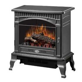 Dimplex DS5629GP Traditional Electric Stove Gloss Pewter
