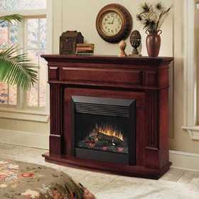 Dimplex DFP6787C Traditional Electric Fireplace In Cherry Finish