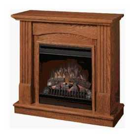Dimplex CFP36850 Traditional Compact Electric Fireplace Stove In Oak Finish