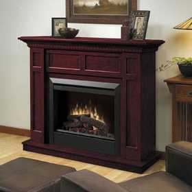 Dimplex DFP4743C Casual Elegance Electric Fireplace In Cherry Finish