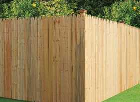 Universal Forest 6X8 1x4 Brite Stockade Fence Section