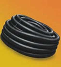 Hancor 04510100H Corrugated Solid Tubing 4x100 ft