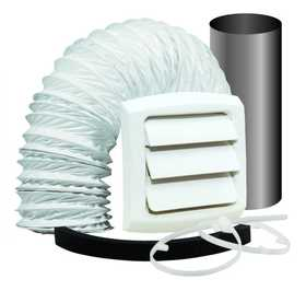 Dundas Jafine EXTWZW Bathroom Fan Vent Kit