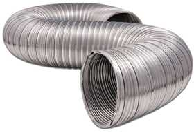 Dundas Jafine MFX48XZW Flexible Duct Aluminum 4x8 ft