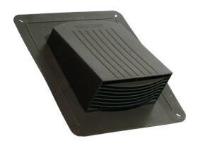 Dundas Jafine RL4BNP Plastic Roof Exhaust Vent 4 in Brown