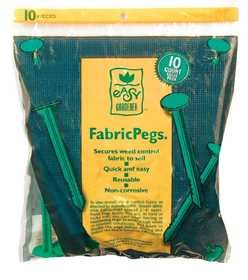 Easy Gardener 801 Fabric Peg 10pk
