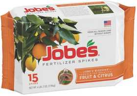 Easy Gardener 01612 Jobe's Fruit & Citrus Fertilizer Spike Value Pak15pk