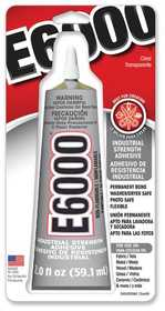 Eclectic Products 380722 E-6000 Quick Hold Adhesive 2 oz