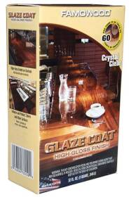Eclectic Products 5050080 Epoxy Coating Glaze Coat Famowood Kit Q